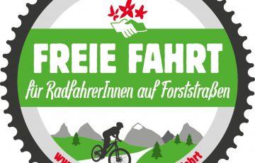 Aktion: Freie Fahrt auf Forststraßen